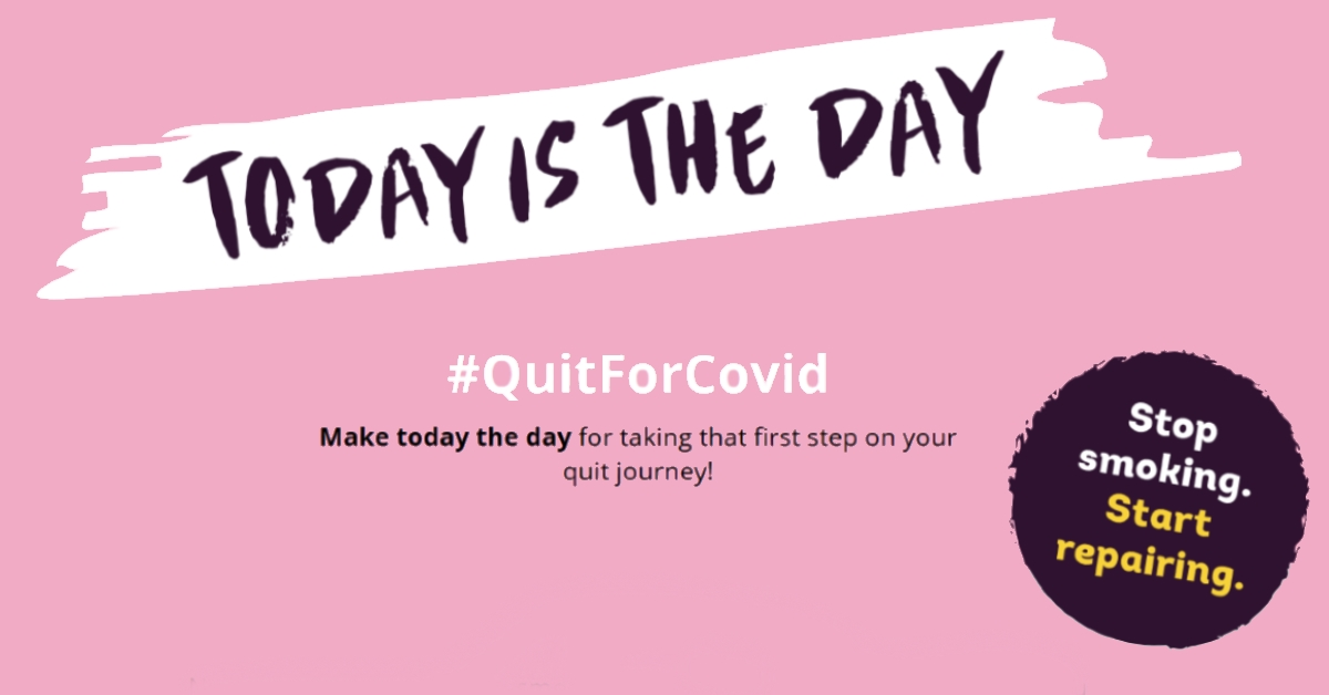 Smokers can #QuitForCovid with Get Healthy Rotherham